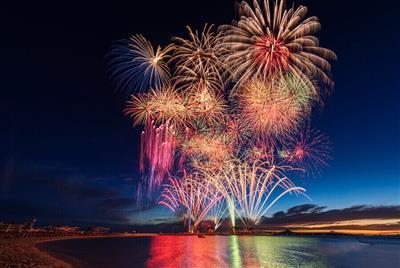 【2019年花火イベント】県内最大級の花火イベント「海洋博公園サ