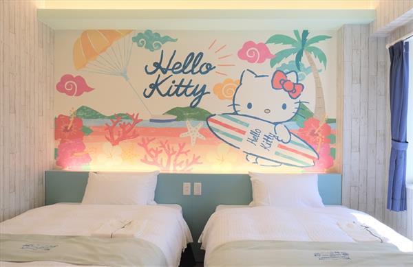国内初!全室サンリオキャラクターデザインのホテルが那覇市に誕生