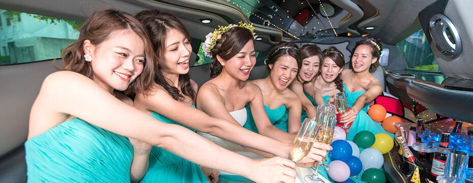 【高校卒業生限定】卒業パーティーまでリムジンドライブ!8人利用で1人2000円台♪