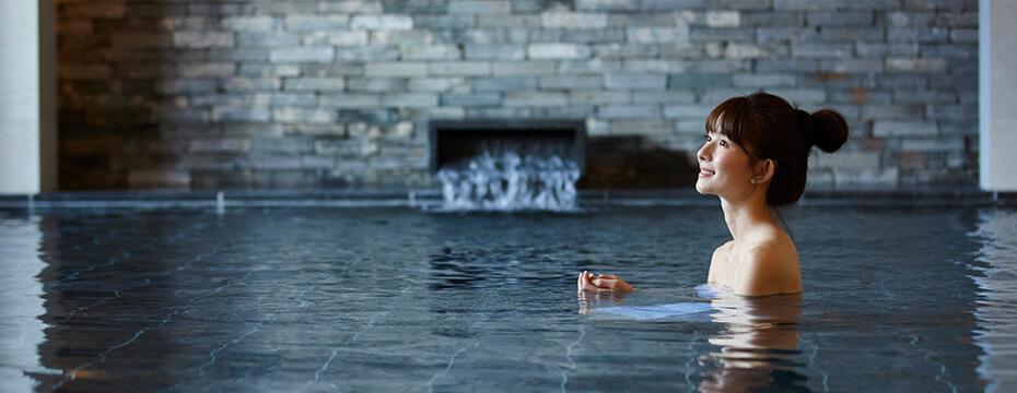 天然温泉で癒しの時間を!サウナや水風呂も完備!コーヒーやアイスのサービスも☆