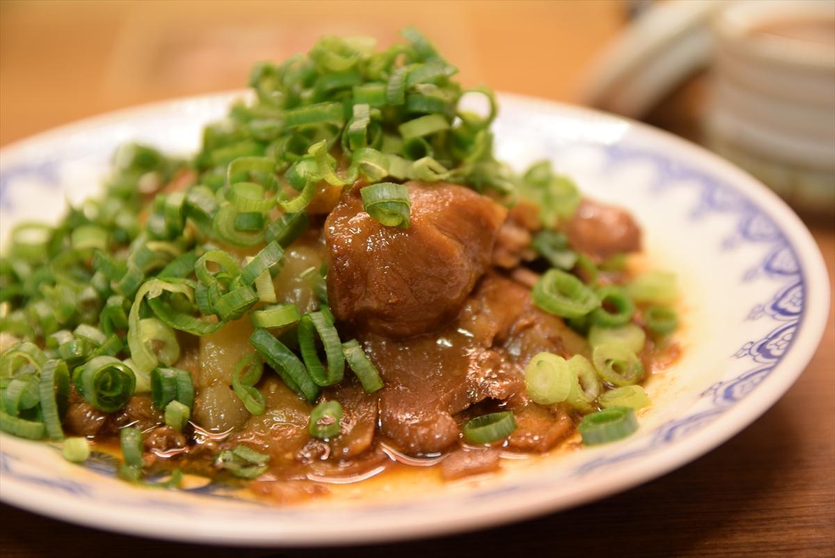 煮込み焼き豚皿