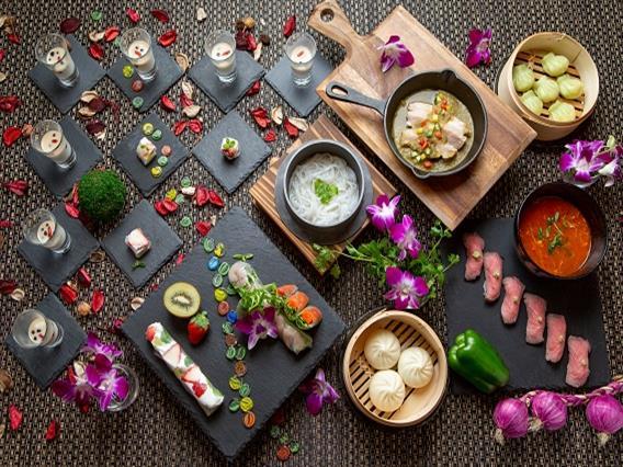 アジアの美味しいものがいっぱい!