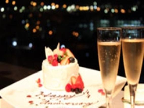 おふたりの大切な記念日を少し贅沢なディナーコースでお手伝い致します。