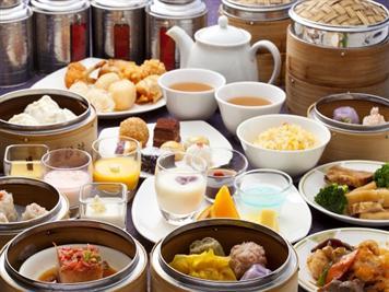 【ランチ】中国茶と楽しむ飲茶バイキング