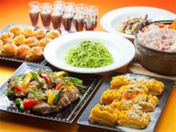 和食と洋食が楽しめるランチバイキング